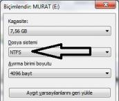 USB Belleğinizdeki Dosyaları Kaybetmeyin
