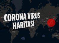 En Güncel Coronavirüs Haritası